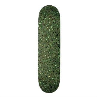 Speckled Computer Circuit Board Pattern Texture Skateboard Deck