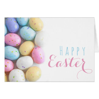 Speckled Eggs Easter Card