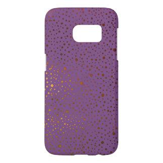 speckled pattern purple samsung galaxy s7 case