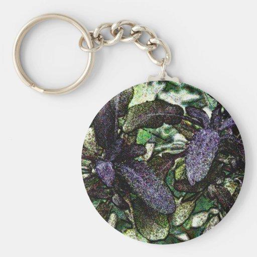 Speckled Sage Artwork Key Chain
