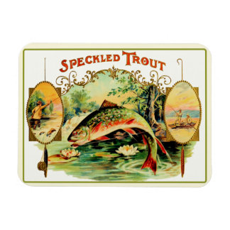 Speckled Trout Fly Fishing Magnet