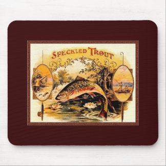 speckled trout mouse pad