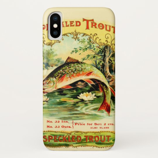 Speckled Trout Vintage Art Galaxy Nexus Cover