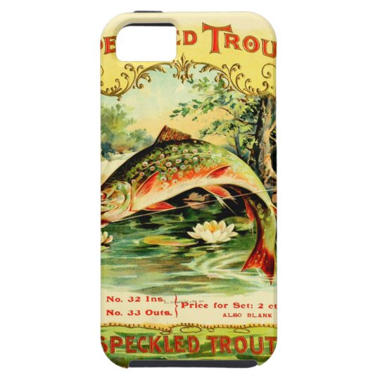 Speckled Trout Vintage Art iPhone 5 Cover