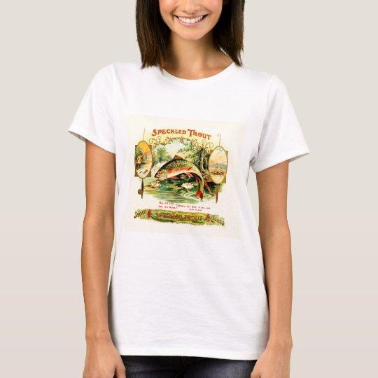 Speckled Trout Vintage Art T-Shirt