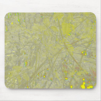 Speckled Yellow Mousepad