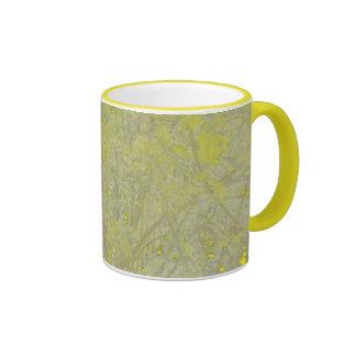 Speckled Yellow Coffee Mug