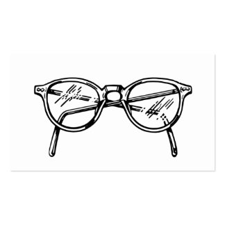 Spectacles Eyeglasses Business Card