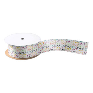 Spectacles Gift Wrap Satin Ribbon