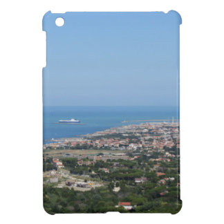 Spectacular aerial panorama of Livorno city iPad Mini Cover