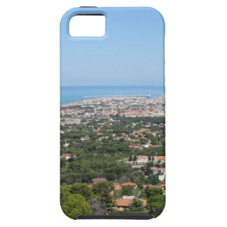 Spectacular aerial panorama of Livorno city, Italy iPhone 5 Covers