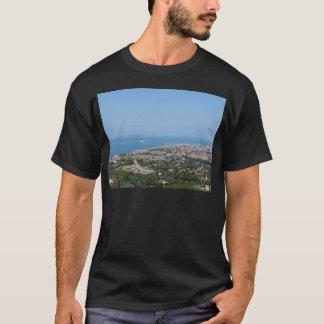 Spectacular aerial panorama of Livorno city T-Shirt