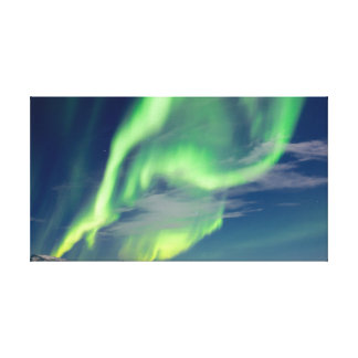 Spectacular Aurora borealis Northern Lights Canvas Print