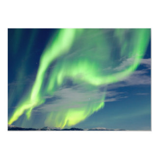Spectacular Aurora borealis Northern Lights Card