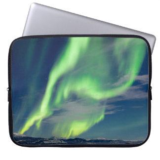 Spectacular Aurora borealis Northern Lights Laptop Sleeve
