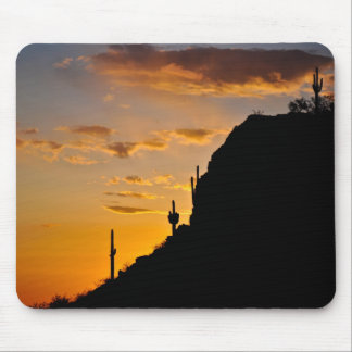 Spectacular Desert Sunset Mouse Pad
