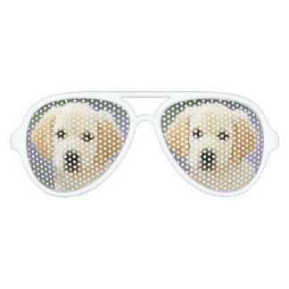 spectacular dog painting aviator sunglasses