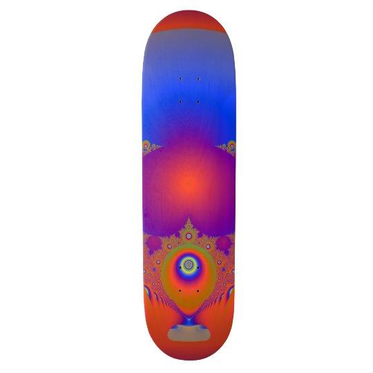Spectacular Fractal Design Skate Board