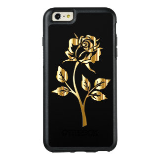 Spectacular gold rose OtterBox iPhone 6/6s plus case