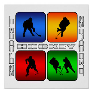 Spectacular Hockey Poster