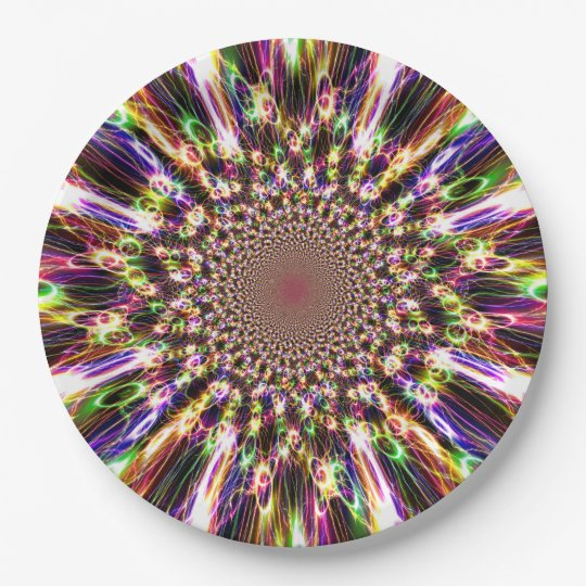 Spectacular Rainbow Paper Plates 9 Inch Paper Plate