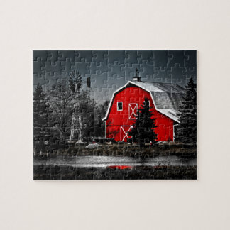 Spectacular Red Barn - Puzzle