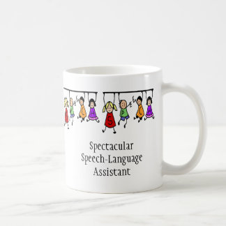 Spectacular Speech-Language Assistant cute kids Coffee Mug