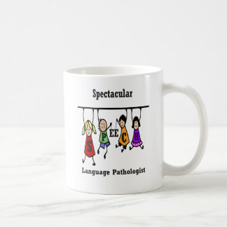 Spectacular Speech-Language Pathologist Kids Coffee Mug