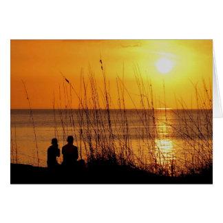 Spectacular Sunset Card