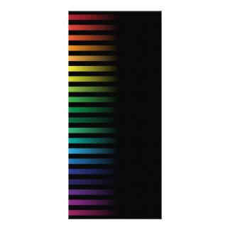 Spectral Background Rack Card