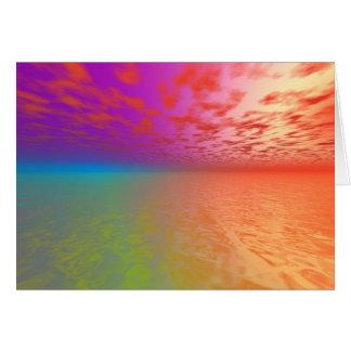 Spectral Dawn Card