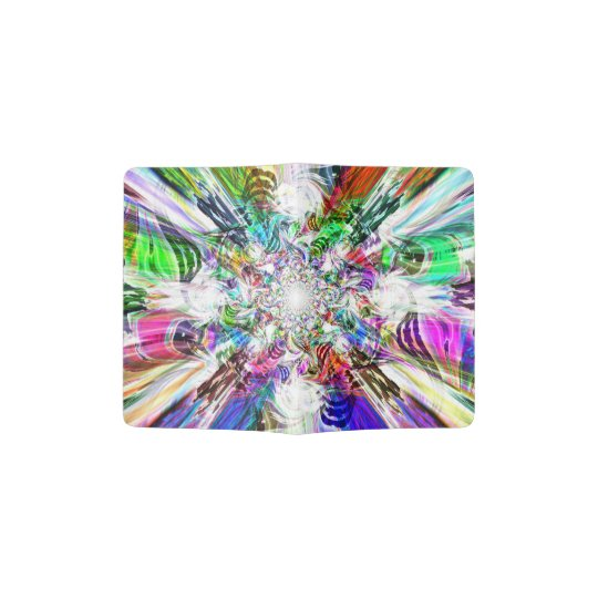 Spectral Diamond Passport Holder