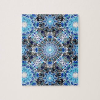 Spectral Essence Mandala Jigsaw Puzzle