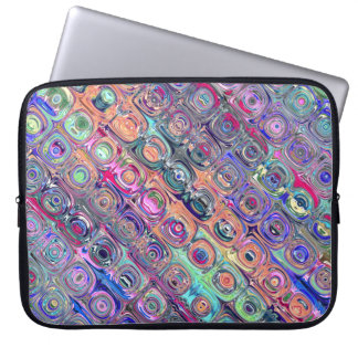 Spectral Glass Beads Laptop Sleeve