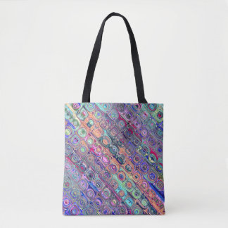 Spectral Glass Beads Tote Bag