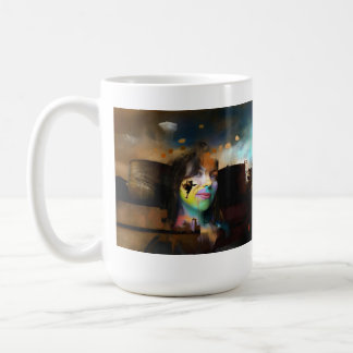 Spectral moment coffee mug
