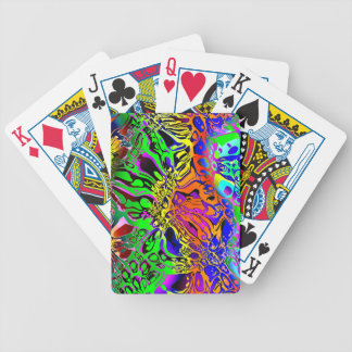Spectral Shapes Abstract Bicycle Playing Cards