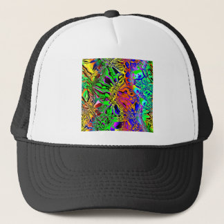 Spectral Shapes Abstract Trucker Hat