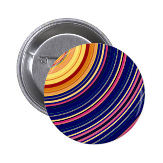 Spectral Sun Rays 2 Inch Round Button