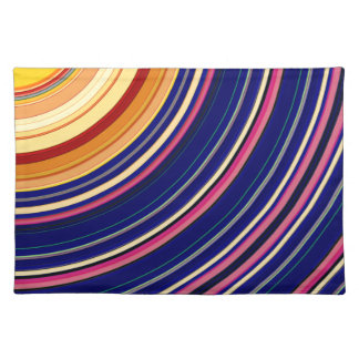 Spectral Sun Rays Placemat