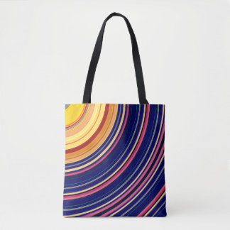 Spectral Sun Rays Tote Bag