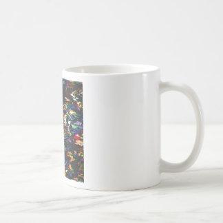 Spectral Triangles Glitch Coffee Mug