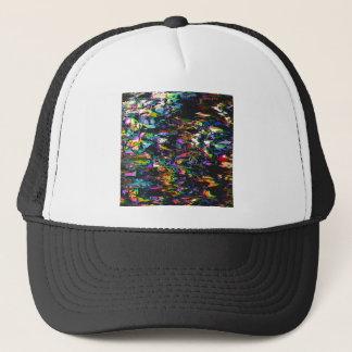 Spectral Triangles Glitch Trucker Hat
