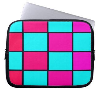 Spectrum Colorful 14 Zipper Soft Laptop iPad Case Laptop Computer Sleeves