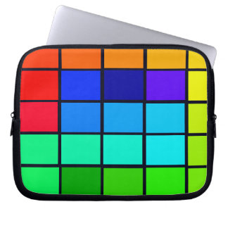 Spectrum Colorful 1 Zippered Soft Laptop iPad Case
