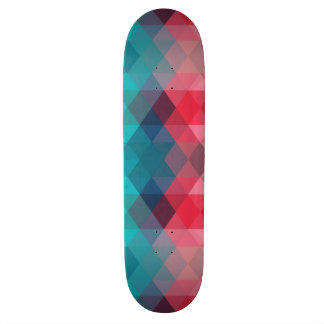 Spectrum Geometric Background Skate Deck