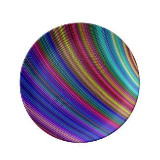 Spectrum Porcelain Plate
