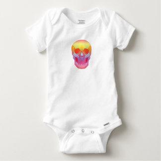 Spectrum Skull Baby Onesie