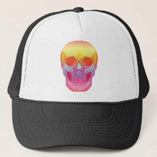 Spectrum Skull Trucker Hat