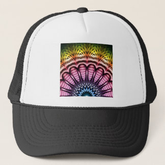Spectrum Sun Flower Trucker Hat